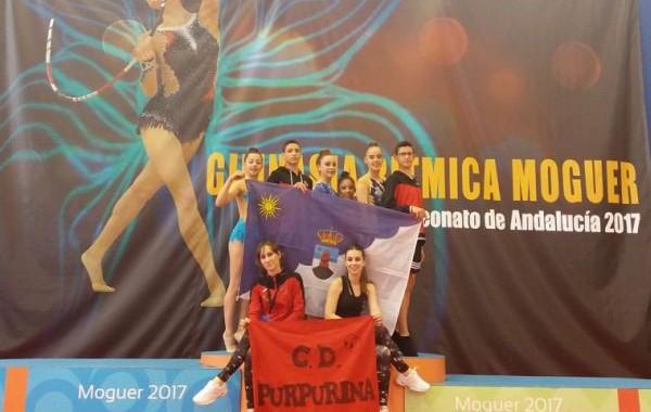 Ivan Fernández y Adrián Monuera, protagonistas del andaluz de gimnasia