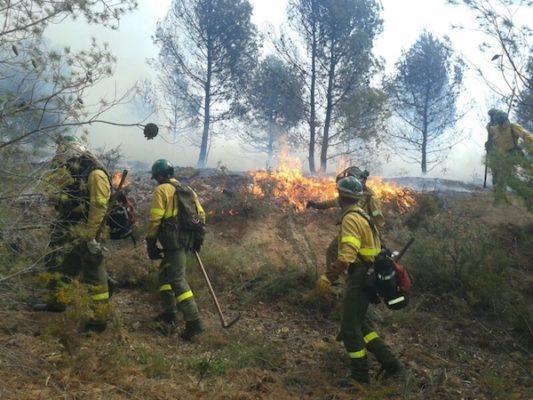 Incendio Infoca