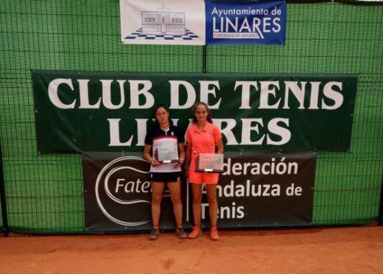 María Dolores López. Tenis