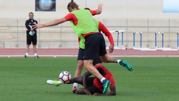 UD Almería, entrenamiento