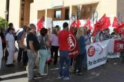 La plantilla de KLE Servicios Integrales sale a la calle en protesta por los impagos de la empresa