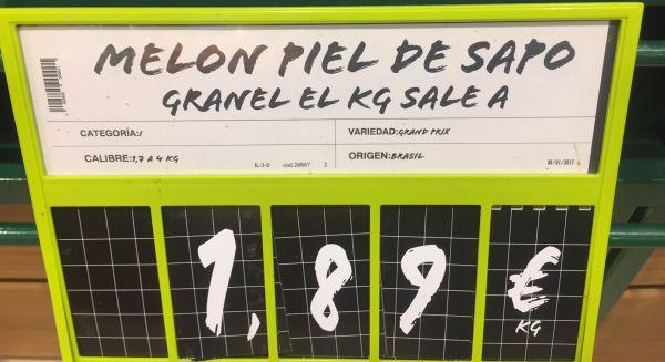 melón de brasil