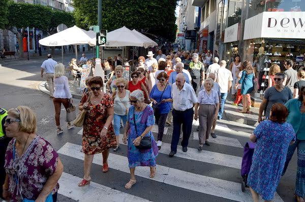 senderismo urbano mayores