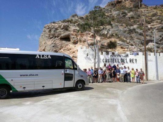 ALSA en Castell del Rey