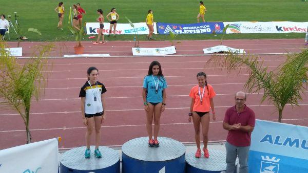 Alba Moreno, atletismo