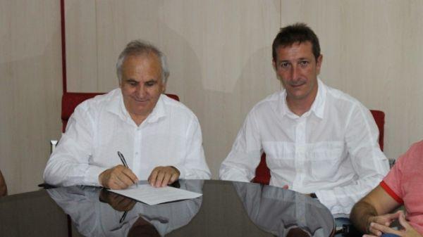 Alfonso García y Luis Miguel Ramis
