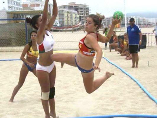 Inés Belmonte, balonmano playa