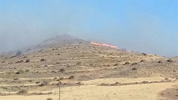 Incendio forestal Pozo de los Frailes