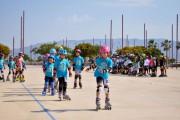 Fiesta del patinaje en el Recinto Ferial de Almería