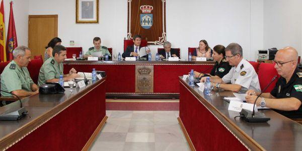 Reunión Junta Local de Seguridad Adra