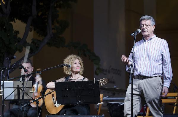 Sensi Falán puso voz y música a los versos de Goytisolo