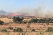 Desalojados cortijos por un incendio forestal en el Parque Natural Cabo de Gata-Níjar