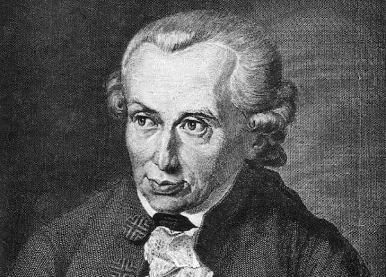 retrato Kant