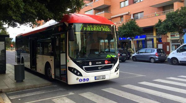 170719 Autobús línea 7 en Goleta