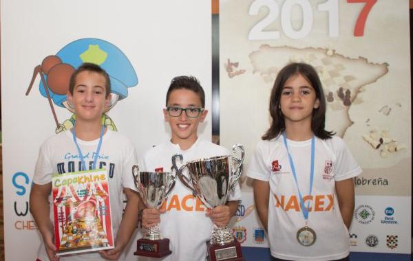 Ciro Revaliente, doble campeón de España de Ajedrez alevín