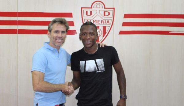 Corona y Estupiñán, UD Almería