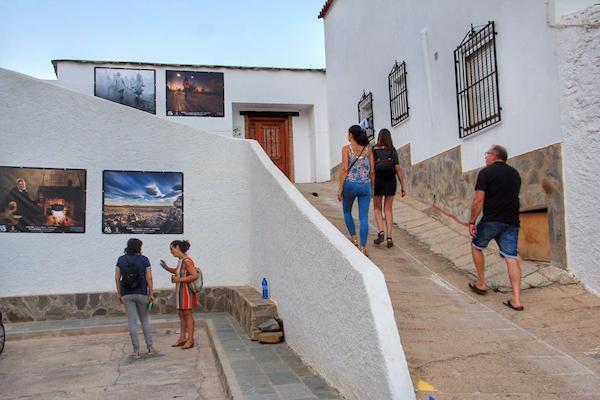 Exposición fotográfica calles de Abla