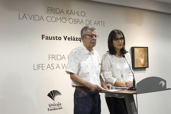 Emilia Garrido y Fausto Velázquez