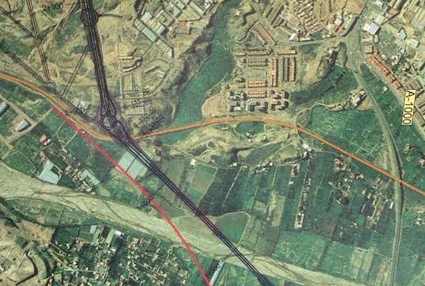 Proyecto conexión Almería a92