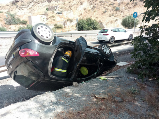 Accidente Olula del Río