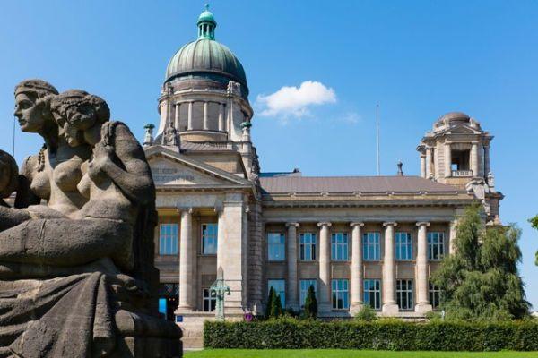 Palacio de Justicia de Hamburgo (foto www.ojal.de)