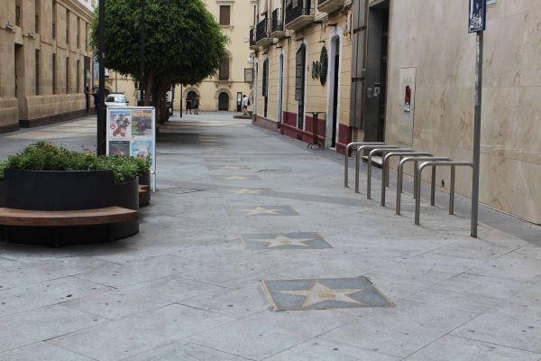 Paseo de las Estrellas, Almería