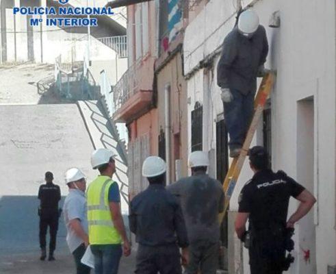 Policia Nacional, Endesa