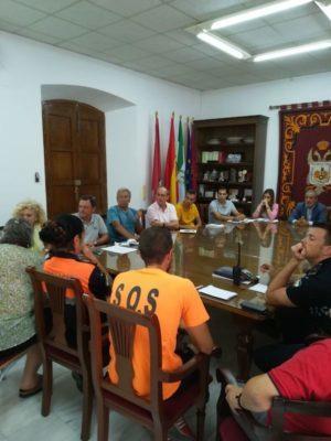 Reunión de Veraplayazul con el alcalde