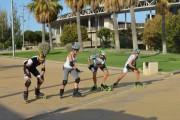 Primer Torneo de Velocidad Roller 360 de la Feria de Almería