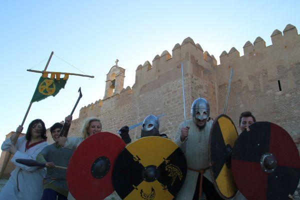 Alcazaba, recreación histórica