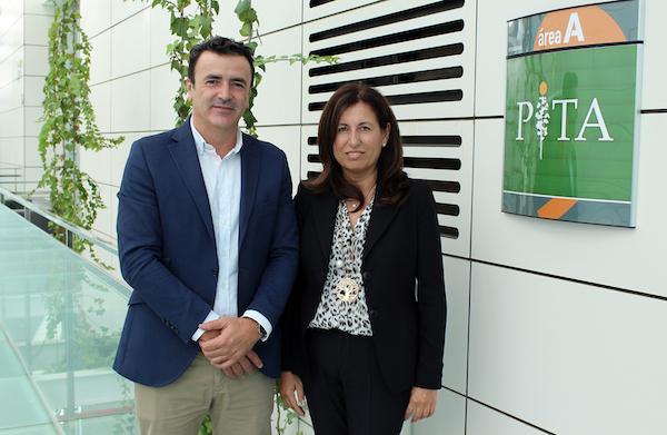 Antonio Domene y Trinidad Cabeo, nueva directora general del PITA