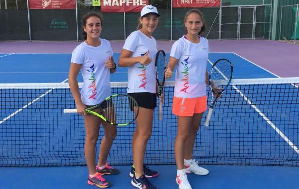 Encarni García Ávila y María Dolores López, subcampeonas de España de tenis en categoría infantil