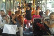 La música se sube al bus en la Semana Europea de la Movilidad