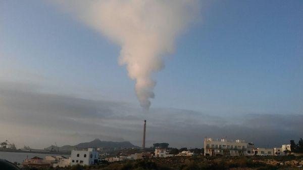 carboneras contaminacion