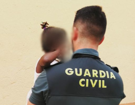 Auxilio menor. Guardia Civil.