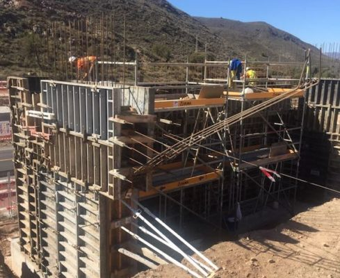 Construcción paso elevado