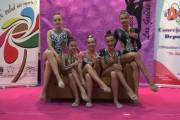 Resultados de las gimnastas ejidenses en Murcia y Granada