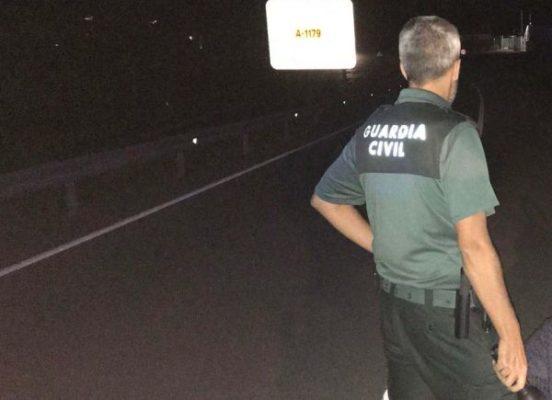 Guardia Civil. Rescate mujer.