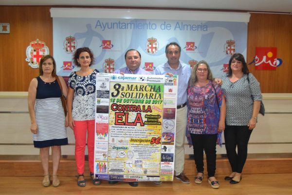 Marcha solidaria ELA