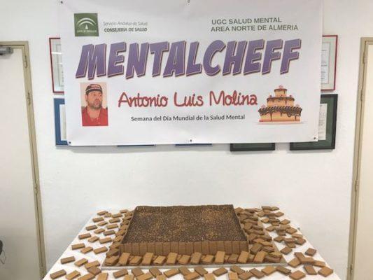 Gigantesca tarta de la abuela elaborada para 150 comensales