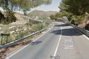 Tráfico corta el acceso sur a Huércal Overa por obras