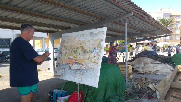 Pintura ràpida, Roquetas de Mar
