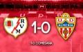 Un mal Almería cae ante el Rayo Vallecano (1-0)
