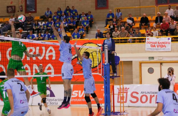 Remate de Borja Ruiz. Soria-Unicaja