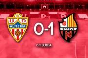 El Reus se lleva los puntos ante un Almería inoperante