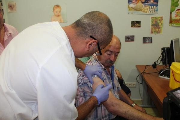 Vacunación Gripe Almería