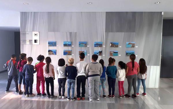Pequeños artistas del CEIP Ángel Suquía exponen sus obras en el Museo de Almería