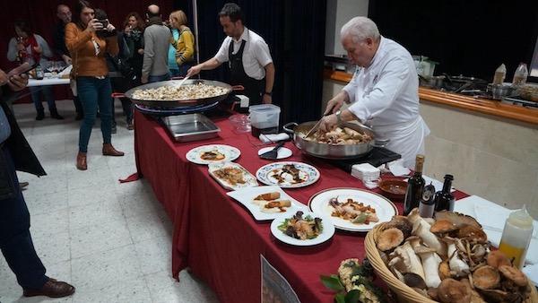 Show cooking celebrado en el Centro Cultural