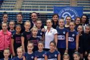 Ekaterina Pirozkhova imparte una clase magistral en Almería