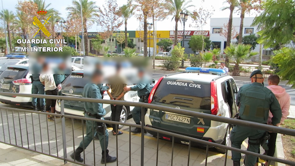 Guardia Civil detenciones